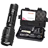 5000 Lumens Anglewolf Bright CREE T6 LED Shadowhawk Flashlight Torch X800 G700 Kit
