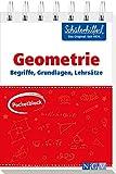 Pocketblock Geometrie - Begriffe, Grundlagen, Lehrsätze: Gute Noten mit der Schülerhilfe