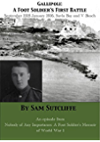 Gallipoli: A Foot Soldier's First Battle September 1915-January 1916 Suvla Bay and V Beach: An episode from Nobody Of Any Importance: A Foot Soldier's Memoir Of World War 1