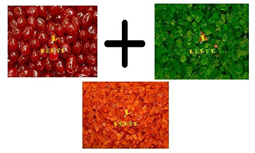 Leeve Dry Fruits Cherry with Tutti and Frutti, 200g