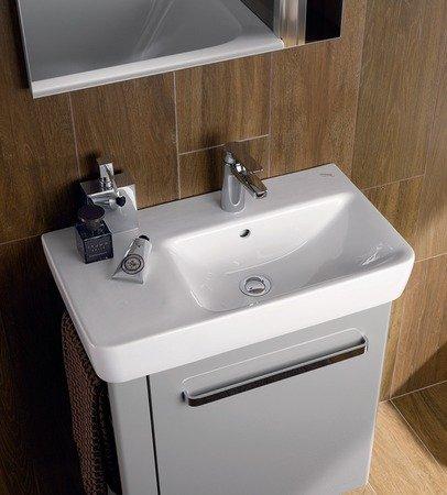 Keramag Renova Nr. 1 Comprimo NEU Waschtisch 65 cm weiß KeraTect; mit Ablage links