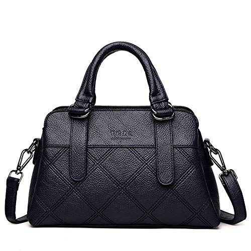 ZLULU Damen-Schultertaschen Damenhandtaschen Womens Tasche Wildsteppung Schulter Geschlungene Handtasche, C -