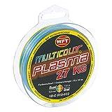 WFT KG Plasma round 150m geflochtene Schnur 0,08mm-0,36mm, Durchmesser:0.18mm;Farbe:multicolor