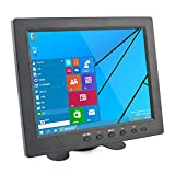 Monitor Screen Display für PC CCTV Kamera Auto DSLR Backup Kamera (8 Zoll TFT LCD 1024x768 VGA AV BNC Video Audio HDMI Eingang) von Elecrow
