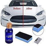 FOONEE 9H rivestimento in ceramica, kit per auto, auto vernice sigillante, rivestimento antigraffio vetro esterno Care super idrorepellente, 30ml