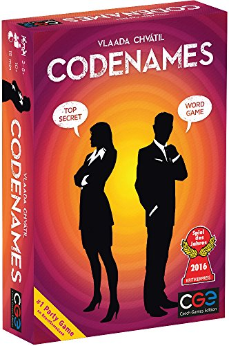 Czech Games Codenames Word Game - Multi Color