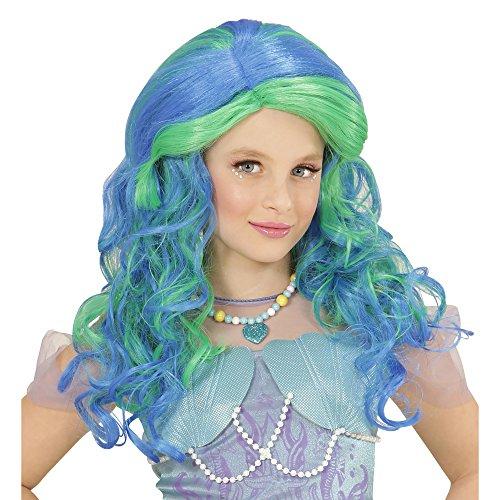 Perücke Meerjungfrau (Meerjungfrau-outfit Kinder)