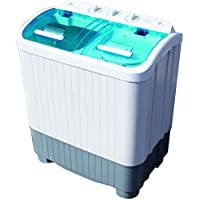 Twin Tub DELUXE Portable Washing Machine Spin Dryer - Camping Caravan Student Home