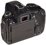 Canon EOS 80D SLR-Digitalkamera (24,2 Megapixel, 7,7 cm (3 Zoll) Display, APS-C CMOS Sensor, 45 AF-Kreuzsensoren, DIGIC 6 Bildprozessor, NFC und WLAN, Full HD) nur Gehäuse schwarz - 2