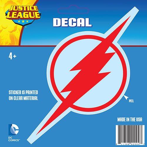 DC Comics The Flash Red Logo Window Decal Aufkleber