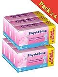 Physiodose Sérum physiologiques Lot de 6 boîtes de 40 unidoses + 10 Sachets de 2...