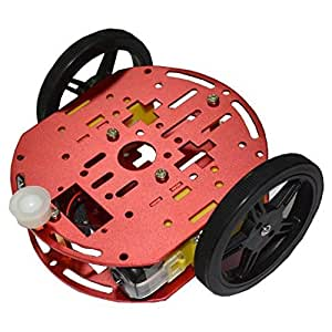 Olimex robot-2wd-kit2FEETECH ft-dc-002Robotic Vehicle Chassis Arduino Crumble build-bot crumblebot picocon mindsets
