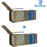 Ramanta 2 PCs Big Iron Rat/Mouse/Rodent Trap Cage (26.5 cm X 10 cm X 11 cm)