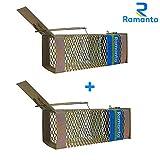 Ramanta 2 PCs Big Iron Rat/Mouse/Rodent Trap Cage