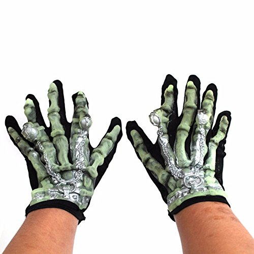 Aktivitäten props Halloween Halloween Kostüme und Verbrauchsmaterial Verbrauchsmaterial halloween handschuhe glow-in-the-Handschuh, night light Handschuhe