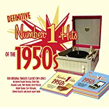 The Definitive No 1 Hits Of The 1950s 4CD - Every Number 1 from 1950