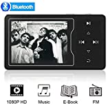 ChenFec 16GB 4.0 Bluetooth MP3 Player Lossless Sound Music Player with Built-in Speaker