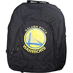 Forever Collectibles NBA Golden State Warriors Back To School Backpack Black Bag Rucksack Tasche