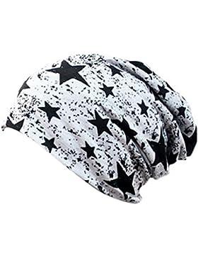 TININNA Slouchy Beanie Sombrero Unisex,Moda Cap gorro Mujeres universal Cálido Invierno de punto de esquí Beanie...