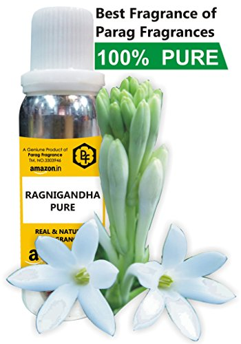 THE RAJNIGANDHA ATTAR 25ML PURE AND NATURAL FRAGRANCE BY PARAG FRAGRANCES ( BEST ATTAR IN FLOWER FRAGRANCE ) 100% ALCOHOL FREE ATTAR FOR MEN AND BEST ATTAR FOR NAVRATRI AND DIWALI