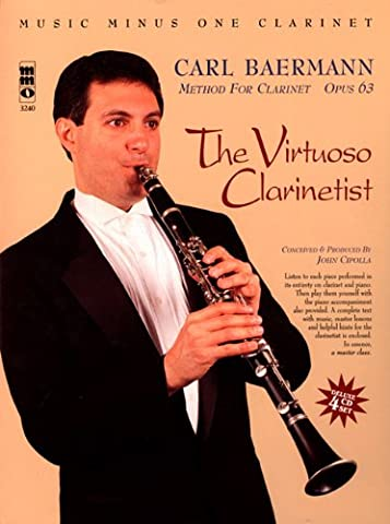 Carl Baermann: The Virtuoso Clarinetist, Opus 63 (Music Minus One (Numbered))