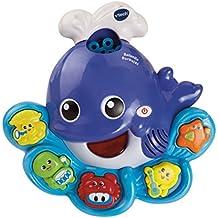 VTech - Ballenita burbujas, juguete de baño para hacer burbujas de jabón ...
