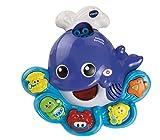 VTech Ballenita burbujas, juguete de baño para hacer burbujas de jabón (3480-146022)