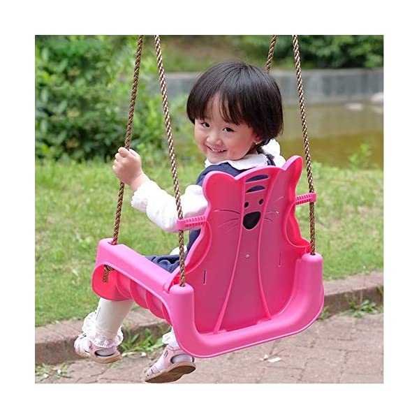 JTYX 3 in 1 Children's Swings Indoor Home Hammocks Baby Seat Outdoor Swing Chair Child Toy Hammock Chairs JTYX Strong carrying capacity: sturdy and durable, bearing capacity up to 100kg, ensuring stable swing. Rugged and durable: high temperature resistance, fading resistance, ensuring safe use. Versatility: Through these swings, you can inspire your child's ability to balance and promote balance while bringing happiness and total relaxation. 5