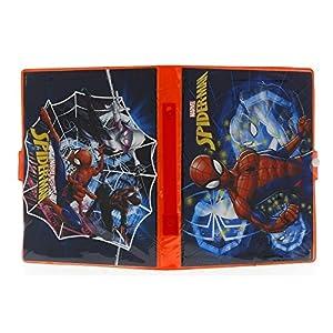 Sambro- Spiderman Estuche, Color Rojo (SPE-4219)