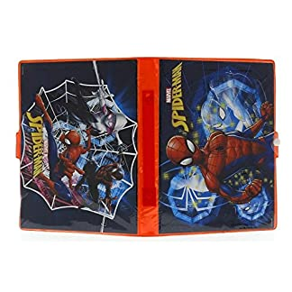Sambro- Spiderman Estuche, Color Rojo (SPE-4219)