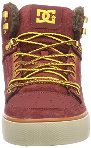 DC Shoes  Spartan High Wc M Shoe Bww, Sneakers Hautes homme Rouge (Brown/Wheat)