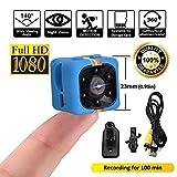 SQ11 1080P Mini Camera , HD Camcorder , Nanny Cam , Hidden Camera ( Visione Notturna , FOV140 , 1080P ) Videocamere Covert Mini DV Videoregistratore Sportivo di LITEBEE immagine