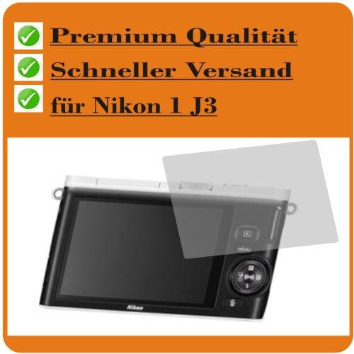 4 x Entspiegelnde Displayschutzfolie für Nikon 1 J3 Schutzhülle Displayschutz Displayfolie Folie (Nikon 1 J3 Akku-ladegerät)