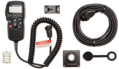 Standard Horizon cmp31b 5,1cm RAM3+ Fernbedienung/Mikrofon, Schwarz (Marine-vhf-radio Horizon Standard)
