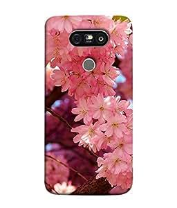PrintVisa Designer Back Case Cover for LG G5 :: LG G5 Dual H860N :: LG G5 Speed H858 H850 VS987 H820 LS992 H830 US992 (Plant Illustration Season Beauty Garden Flora Abstract)