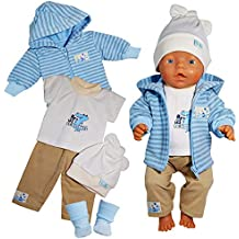 Puppenkleidung 43 cm Neu passend Baby Born Puppe