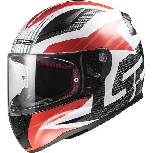 LS2 - Casco de moto rejilla rápida