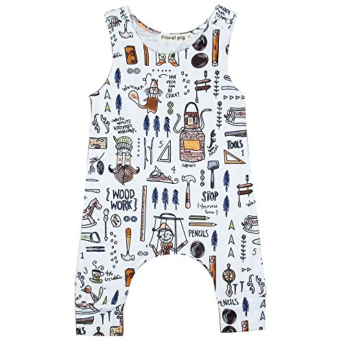 Baby Jungen Mädchen Sleeveless Jumper Strampler Body Playsuit Outfits
