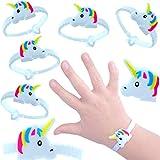 German Trendseller® - 24 x pulsera unicornio ┃fiestas infantiles┃ idea de regalo┃piñata┃cumpleaños de niños┃ 24 unidades