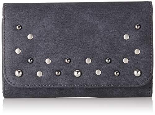 s.Oliver (Bags Damen 39.808.93.4697 Geldbörse, Grau (Dark Grey), 3x10x16 cm