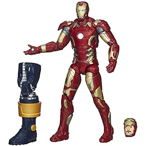 Marvel Legends Serie Infinita Iron Man Mark 43 15 cm Figura - Vengadores: La era de Ultrón