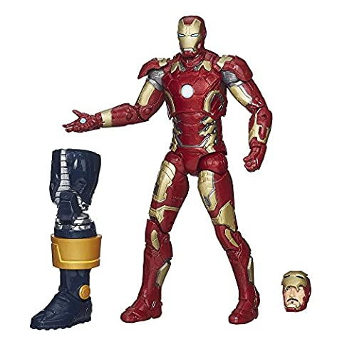 Iron Man T-shirt Costume - Marvel Legends Infini série Iron Man Mark