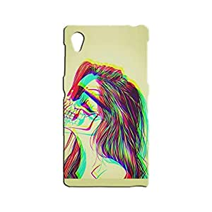 BLUEDIO Designer 3D Printed Back case cover for Sony Xperia Z1 - G7509