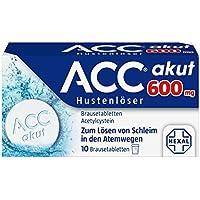Preisvergleich für ACC akut 600 mg Hustenlöser, 10 St. Brausetabletten