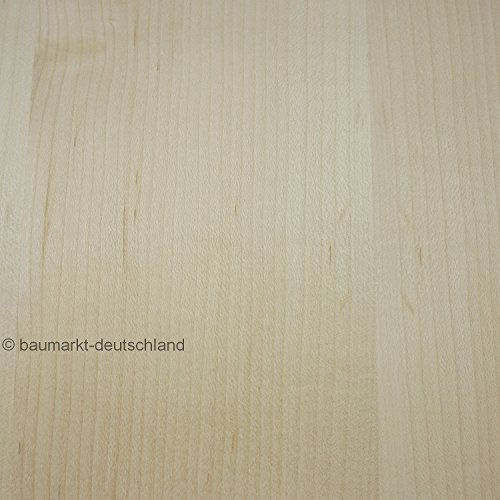 Echtholzfurnier mit Schmelzkleber 30cm Ahorn amerikanisch (Holz Holz Ahorn)