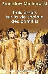 Trois essais sur la vie sociale des Prim