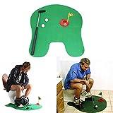 Faway Mini Kit de Fútbol, Kit de Red de Portería de Fútbol/Kit de Golf, Juego de Baño, Juguete Divertido para Regalo, Goft