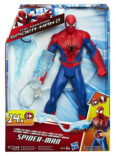 Image of Hasbro Spiderman Triple Attack Spiderman