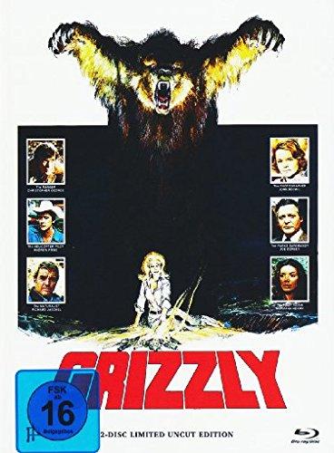Grizzly / Panik in der Sierra Nova / Killerhunde - Mediapack [Blu-ray] [Limited Edition] (Cujo Film-dvd)