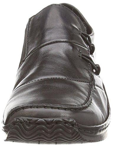 Rieker - L1762-00, Mocassin Femme Noir (noir (noir))
